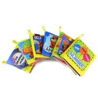 Baby Early Education Colorful Soft Activity Books