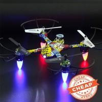Sedang Diskon Helikopter Drone Rc Mini 4 Channel Mode Headless 2.4g