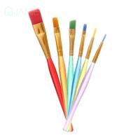 New♕6pcs DIY Tool Pen Cake Icing Decorating Painting Brush Fondant