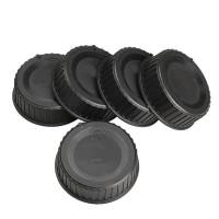 5 pcs Penutup Penutup Lensa Belakang untuk Semua Nikon AF AF-S DSLR