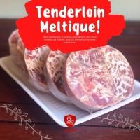 Tenderloin Sapi Meltique Wagyu 200Gr Halal Round Meltik Premium Juicy