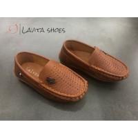 Calvins Sepatu Pantofel Anak Laki-laki Vins-12 - 31, Hitam