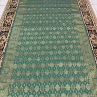 Kain Songket Palembang Meteran Hijau A