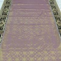 Kain Songket Palembang Meteran Ungu