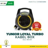 Loyal Turbo Box 15 meter Kabel + Saklar KABEL ROLL KABEL GULUNG
