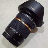 Lensa Wide Tamron SP AF 10-24mm F3.5-4.5 Di II For Dslr Sony Hitam