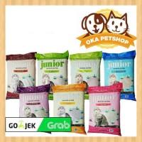 Pasir Kucing Junior 25Litter/Pasir Gumpal(PAKET 3 KARUNG)Pasir junior