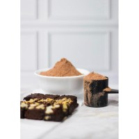 Special Whey Brownies (topping almond)