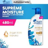 Head & Shoulders Shampoo Supreme Moisture Anti-Ketombe 480ml