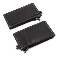 Dompet Kartu Kulit Slim Wallet Card Holder ATM Koin Uang DKK-Bk06