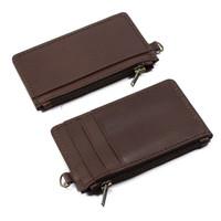 Dompet Kartu Kulit Slim Wallet Card Holder ATM Koin Uang DKK-06
