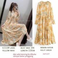 Yellow Maxi Zara Maxi Dress Nagita Maxi Dress Bangkok Maxi Dress Terba