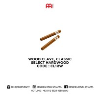 Meinl WOOD CLAVE, CLASSIC SELECT HARDWOOD - CL1RW