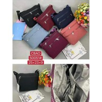 Tas Wanita Import Jinjing dan Selempang CHIBAO CB50051 50051 Denim