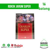 Rokok Djarum / Jarum Super 16 per Bungkus