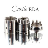 RDA Castle V1.5 22mm By Vapesmith - Tank Smith Castle 1.5 THSH