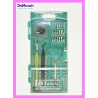 Obeng Set Fatick DK-7067 High Quality 26 in 1 HP Repair Tools