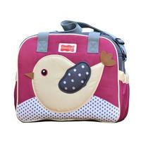 Tas Medium Perlengkapan Bayi Dialogue Baby Birdie Series | Diapers Bag - Merah Muda