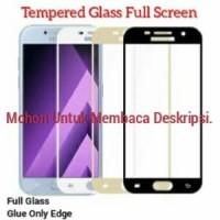 Tempered Glass Full Cover Samsung A310 A320 A510 A520 A6 A6+ A710 A720