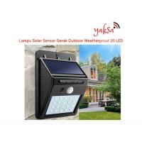 Lampu Sensor Gerak Outdoor Weatherproof 20 LED Otomatis