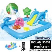 Kolam Renang Anak Fantastik Aquarium Play Pool 53052+pompa12''