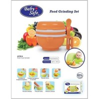 Baby Safe Multi Food Grinding Set - Alat Penghalus Pelumat Makanan