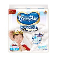 MamyPoko Royal Soft - L 62 - Popok Perekat