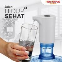 New!Pompa Galon B08 Air Minum Elektrik Otomatis Water Dispenser Pump - Putih
