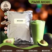 Bubuk Avocado/Powder Rasa Avocado/Bubuk Minuman Origanal/Premium 1 Kg