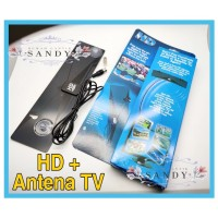 HD Digital Antenna - Antena Digital TV Indoor Cable Plug and Play