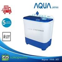 Mesin Cuci Sanyo Aqua 740/755XT 2 Tabung