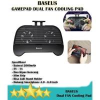 Baseus Dual Cooling Pad - Gamepad Pendingin Dua Kipas for PUBG FF ML