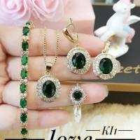 xuping set perhiasan lapis emas 24k f1510