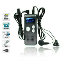 USB digital voice recorder 8gb MP3 handy perekam suara