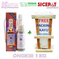 Minyak Gosok Cap Tawon Tutup Putih 330 ml Kwalitet Spesial