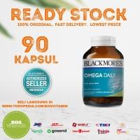 Blackmores Omega Daily BPOM Kalbe - 90 Kapsul