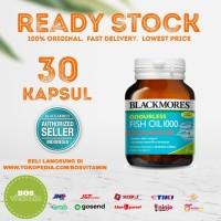 Blackmores Odourless Fish Oil 1000mg BPOM Kalbe - 30 kapsul