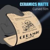 SAMSUNG A21S NANO FLEXIBLE GLASS MATTE FROSTED CERAMIC FULL