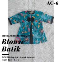 Blouse Batik Anak Perempuan Tosca Usia 1-13 tahun - 1-2 th
