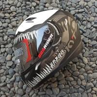 Helm KYT K2 Rider Venom Marvel series Dark Flat Visor