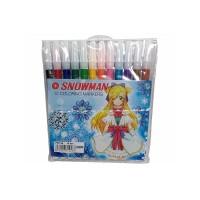 Spidol Snowman 12 Warna
