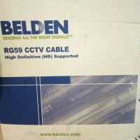 kabel Belden RG 59 + Power CCTV Cable 305M