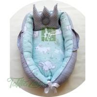 BabyNest Baby Nest Kasur Bayi kado lahiran murah terbaik rabit tosca