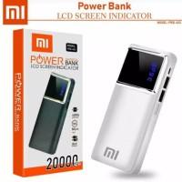 Powerbank/Power Bank Xiaomi Lcd Screen indicator 20000mAh