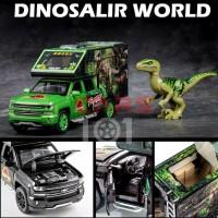 Diecast Chevrolet Silverado Jurassic Park Limited series Skala 1: 32