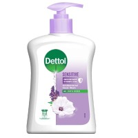 Dettol Hand Wash 245ml - Ungu Sensitive Antiseptic Botol