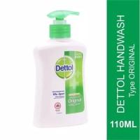 Dettol Hand Wash Anti Bacterial Original Botol Pump 110ml