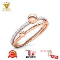 cincin berlian eropa VVSI (TB14)