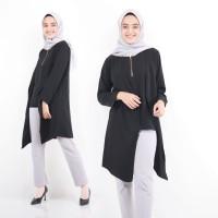 Tunik Atasan Wanita Blouse Baju Muslim Blus Muslim Amor Tunik