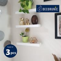 [Decorunic] Floating Shelf - Rak Dinding Minimalis ukuran 30,30,30 cm